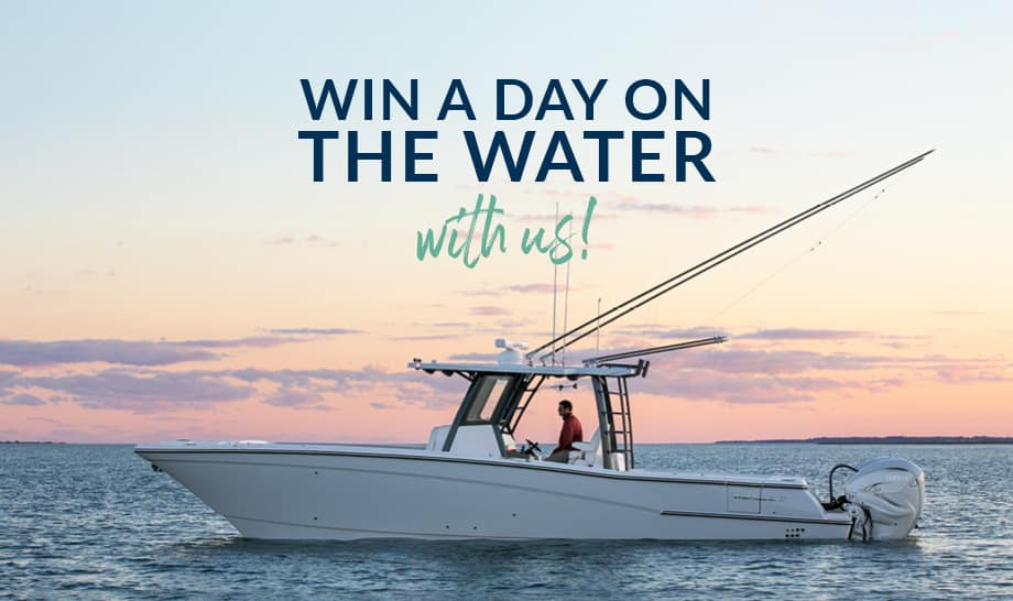 Win A Day On The Water With Us!