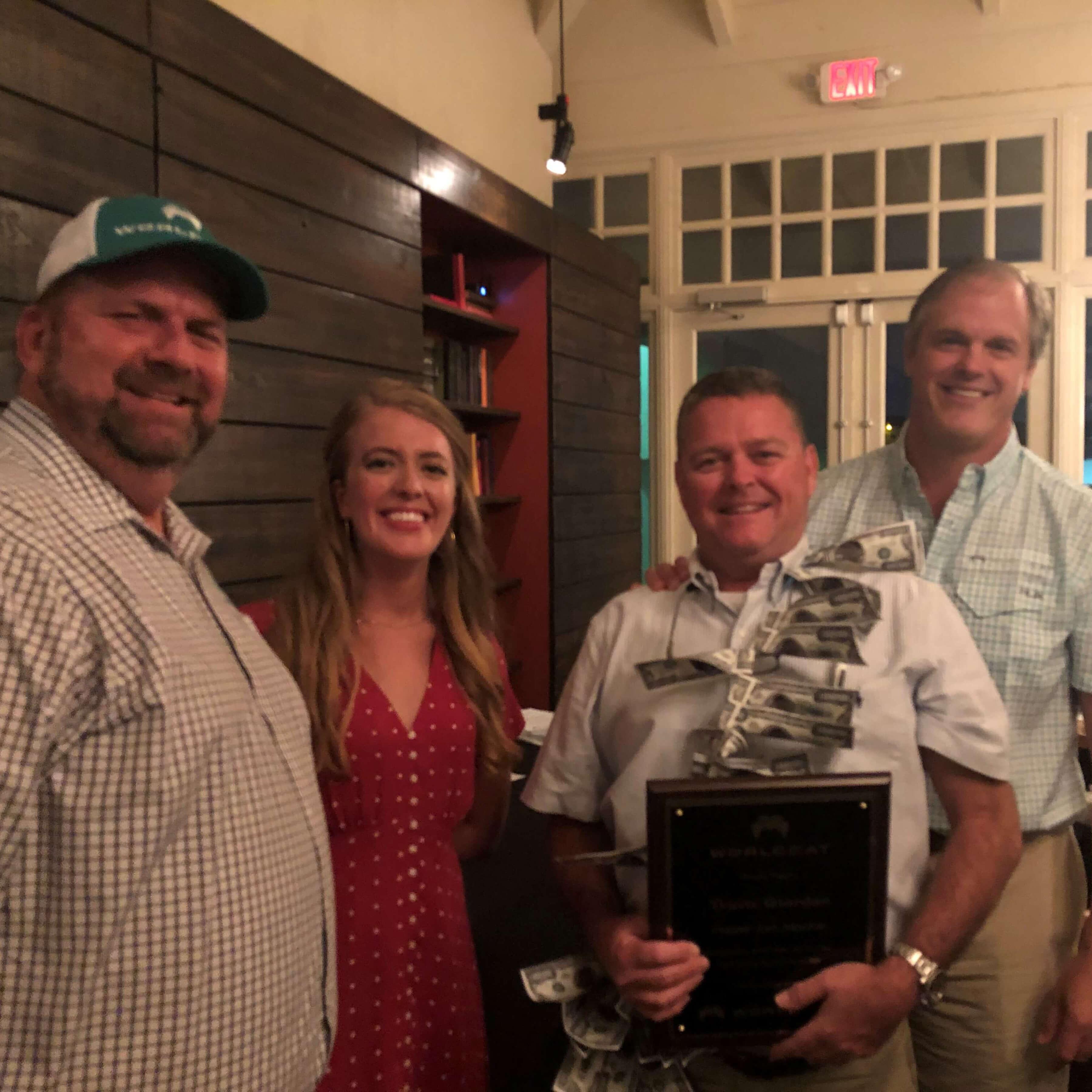 World Cat Dealer Meeting Award Travis Giordan