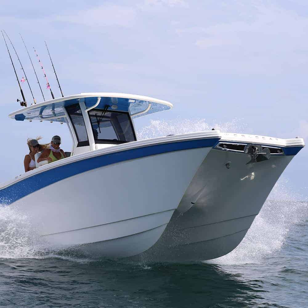 280CC-X Sleek Hull